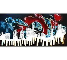 City Funk by Rob Brown Photographic Print