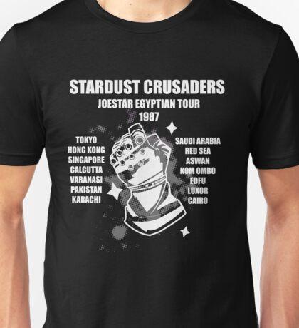 Stardust Crusaders: Joestar Egyptian Tour 1987 Unisex T-Shirt