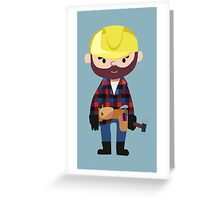 Master Builder Greeting Card