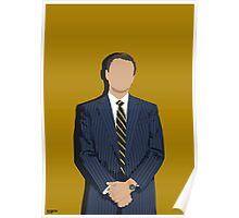Jordan Belfort (Wolf of Wall Street)  Poster
