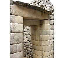 Incan Lintel Photographic Print