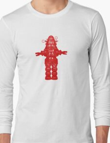 Robby Robot Long Sleeve T-Shirt