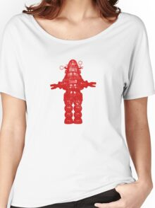 Robby Robot Women's Relaxed Fit T-Shirt