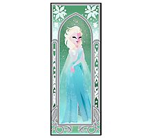 Saisons de Arendelle Winter Photographic Print