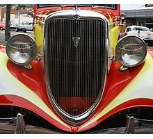 1934 Ford Grille  Photographic Print
