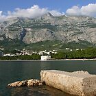 Beach of Makarska by Gino Lalic
