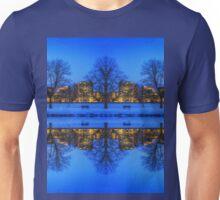 Cold view Warm city lights Unisex T-Shirt