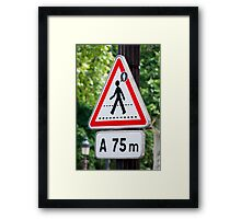 Always On My Mind Framed Print