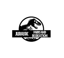 Jurassic Parks and Recreation by cybercaffeine