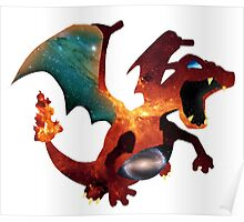 Galactic Charizard Poster