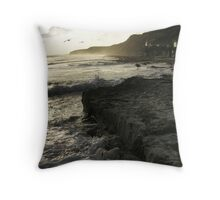 Crystal Cove Sunset Throw Pillow