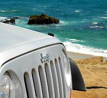 Jeeping on the beach by Misty Adams
