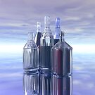 Five Bottles by Hugh Fathers