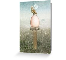 Intention Greeting Card