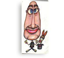 Cartoon No 108 Canvas Print