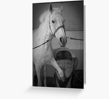 Farrier time Greeting Card
