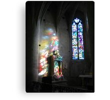 Colours of glass Canvas Print