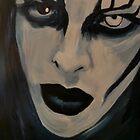 Marilyn manson portrait by Lianne Oost
