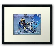TELEFONICA - ROUGH ?  YOU AIN'T SEEN NOTHING YET ! Framed Print