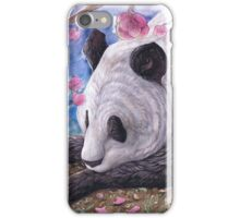 Lazy Panda iPhone Case/Skin