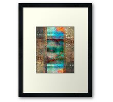 Abstract Composition – July 11, 2010 Framed Print
