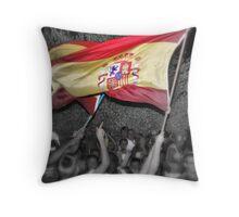 Spain 1...............Holland 0 Throw Pillow