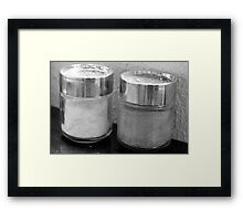 Salt 'n Pepper Framed Print