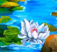 Lotus Pond 11 Sticker