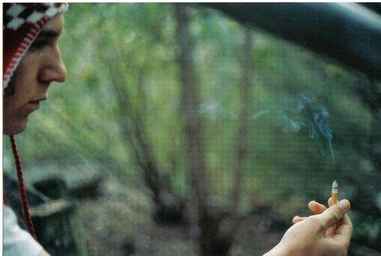Zac and cigarette by JordanLeeChappe