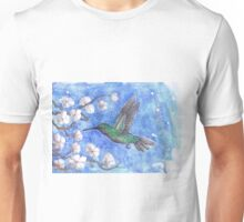 Green Humming bird Unisex T-Shirt