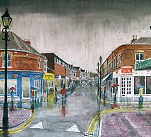 """""""One of Those Days!"""" - Burnham-on-Sea High Street by Timothy Smith"""