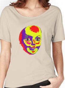 Psychedelic Mannequin Head Women's Relaxed Fit T-Shirt