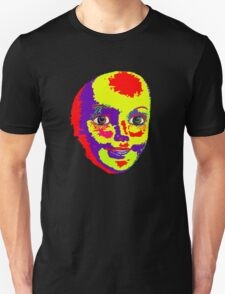 Psychedelic Mannequin Head Unisex T-Shirt
