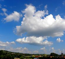 clouds.cumulus,Hungary  by ambrusz
