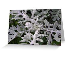 Gargoyles (strange figures among plant leaves) Greeting Card