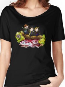 Team Free Will Goes Exploring Women's Relaxed Fit T-Shirt