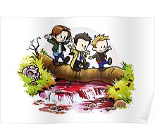 Team Free Will Goes Exploring Poster
