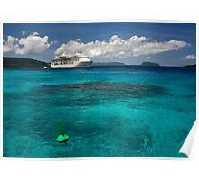 Champagne Bay - Radiance of the Seas Poster