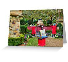 Story Book Garden Greeting Card