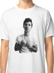 Ansel Elgort - Black & White Classic T-Shirt