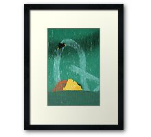Q Mountian Framed Print