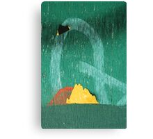 Q Mountian Canvas Print