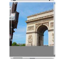Place Charles De Gaulle - Arc De Triomphe iPad Case/Skin