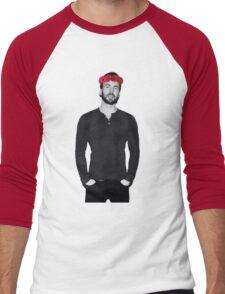 Chris Evans - Flowercrown Men's Baseball ¾ T-Shirt