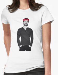 Chris Evans - Flowercrown Womens Fitted T-Shirt