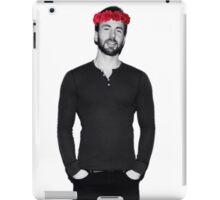 Chris Evans - Flowercrown iPad Case/Skin