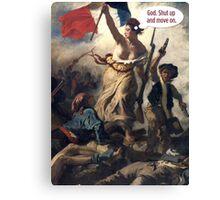 Liberty The Annoyed Canvas Print