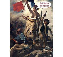 Liberty The Annoyed Photographic Print
