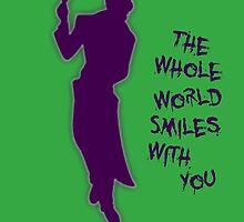 The Whole World Smiles - Joker by JoeWehnert