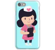 Cute Nurse Design iPhone Case/Skin